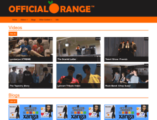 officialorange.com screenshot