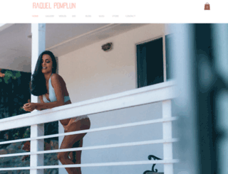 officialraquelpomplun.com screenshot