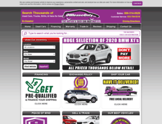 offleaseonlyusedcars.com screenshot