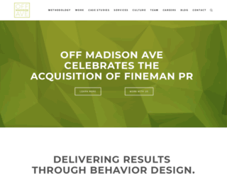 offmadisonave.com screenshot