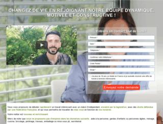 offre-travail-domicile.com screenshot