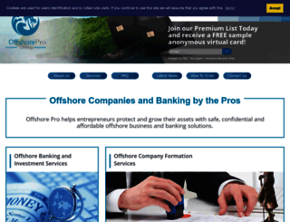 offshore-pro.info screenshot