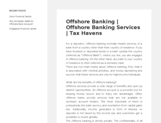 offshorebankingtoday.com screenshot