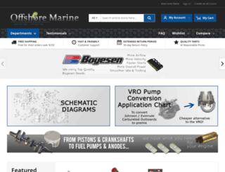 offshoremarineparts.com screenshot