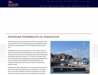 offshorepowerboats.co.uk screenshot