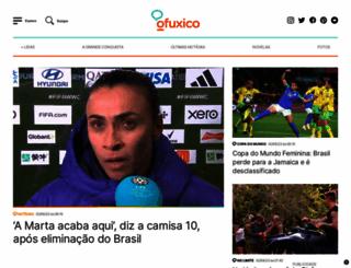 ofuxico.com.br screenshot