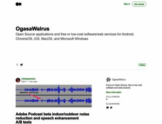 ogasawalrus.com screenshot