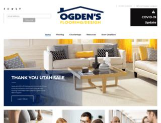 ogdensflooring.com screenshot