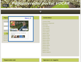 oglasi.vocnesadnice.net screenshot