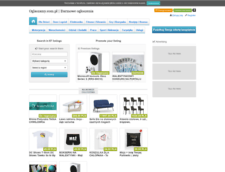 oglaszamy.com.pl screenshot
