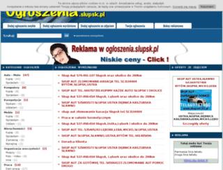 ogloszenia.slupsk.pl screenshot