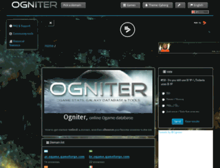 ogniter.org screenshot