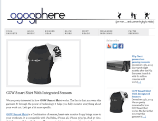 ogosphere.com screenshot