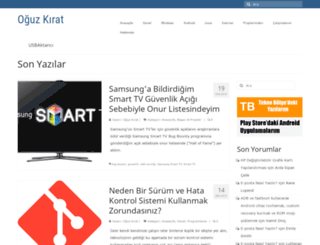 oguzkirat.com screenshot
