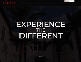 ohanainstitute.org screenshot