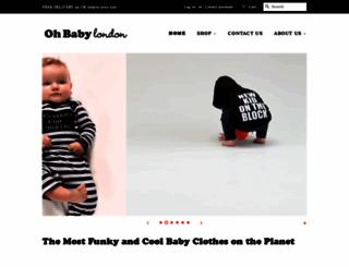 ohbabylondon.com screenshot