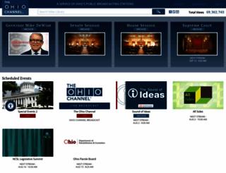ohiochannel.org screenshot