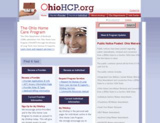 ohiohcp.org screenshot