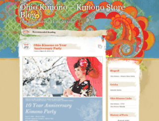ohiokimono.wordpress.com screenshot