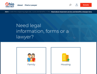ohiolegalservices.org screenshot