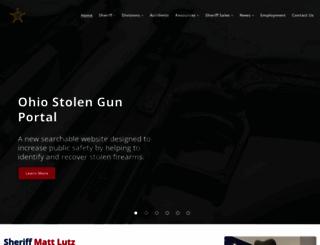 ohiomuskingumsheriff.org screenshot