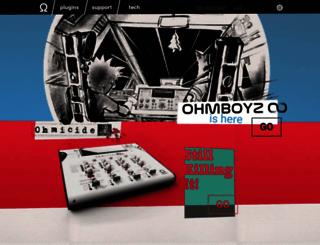ohmforce.com screenshot