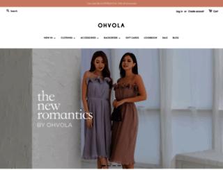 ohvola.com screenshot