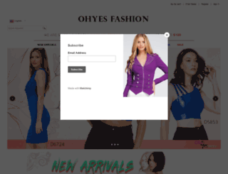 ohyesfashion.com screenshot