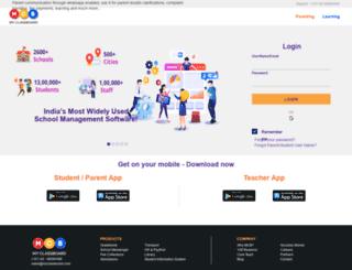 oi.myclassboard.com screenshot
