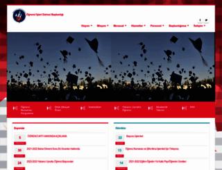 oidb.kku.edu.tr screenshot