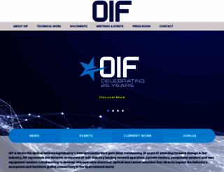 oiforum.com screenshot