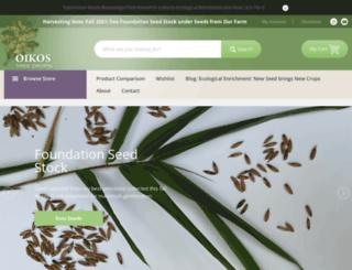oikostreecrops.com screenshot