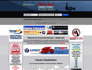 oilandgasdirectory.com screenshot