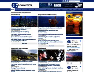 oilandgasinnovation.co.uk screenshot