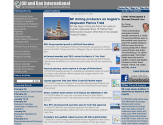 oilandgasinternational.com screenshot