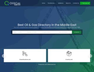 oilandgaspages.com screenshot