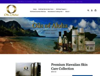oilsofaloha.com screenshot