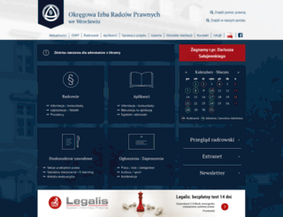 oirpwroclaw.pl screenshot