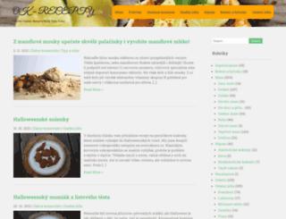 ok-recepty.cz screenshot