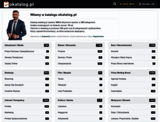 okatalog.pl screenshot