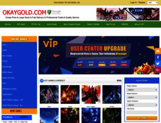 okaygold.com screenshot