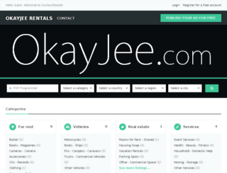 okayjee.com screenshot