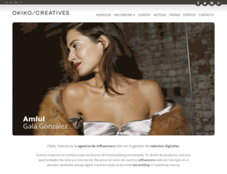 okikotalents.com screenshot