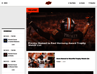 okstate.com screenshot