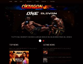 oktagon.it screenshot