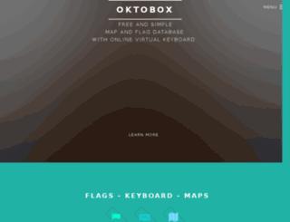 oktobox.com screenshot