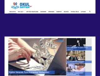 okulsayfam.com screenshot