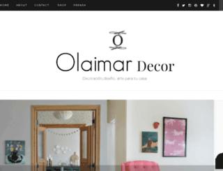 olaimar-decor.blogspot.com screenshot