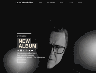 olakvernberg.com screenshot