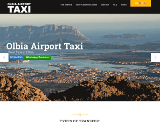 olbia-airport-taxi.com screenshot